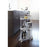 Tower Rolling Kitchen Storage Cart, White