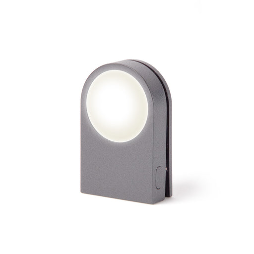 Lucie Wearable LED Clip Light, Gun Metal