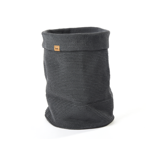 Rollo Laundry Hamper, Modest Grey
