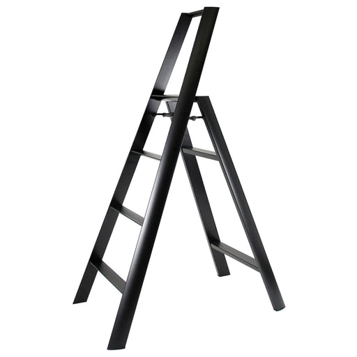 Lucano 4-Step Ladder, Black
