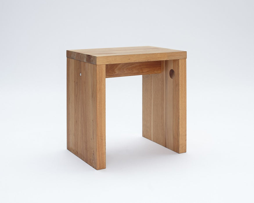 LAX Series - Stool, English Walnut
