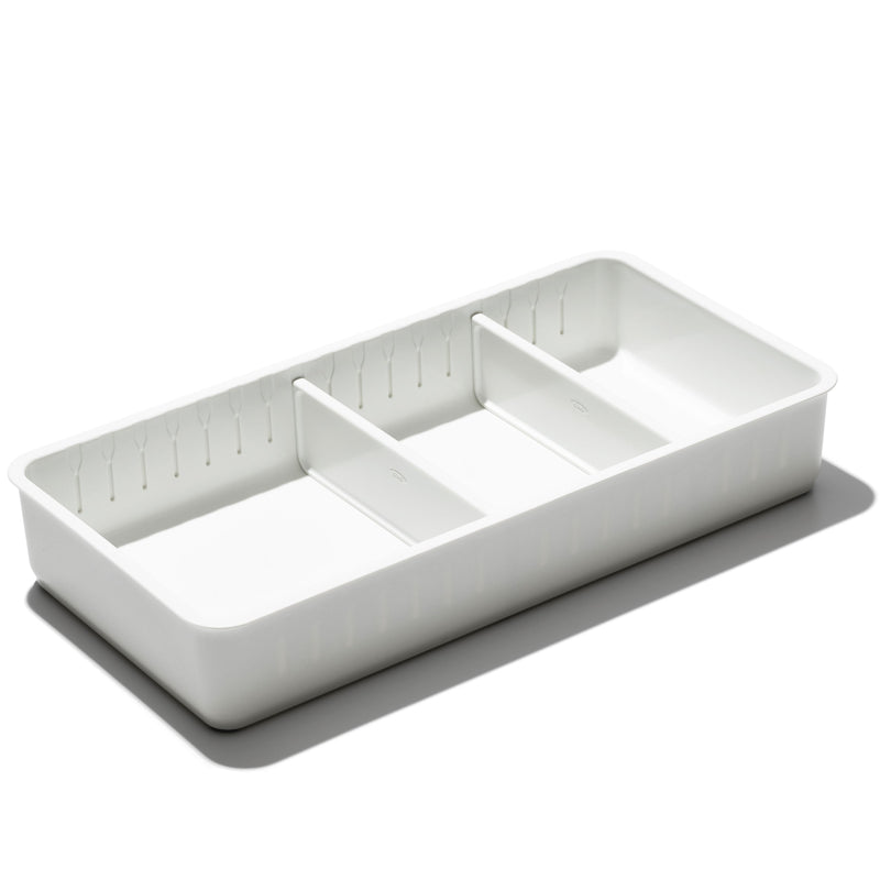OXO Adjustable Drawer Bin, Wide
