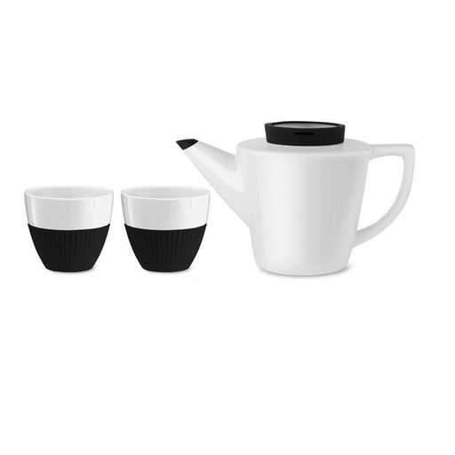 Infusion™ Porcelain Tea Set | Black