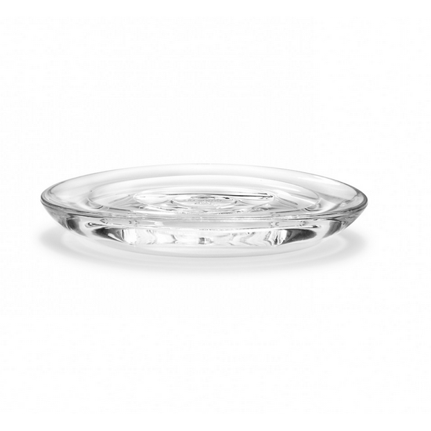 Droplet Soap Dish, Clear