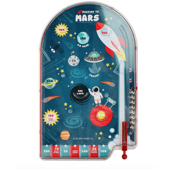 Portable Pinball Mission to Mars