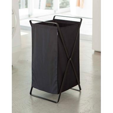 Tower Laundry Basket, Black