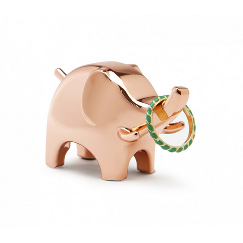 Anigram Ring Holder Elephant - Copper - Neat Space