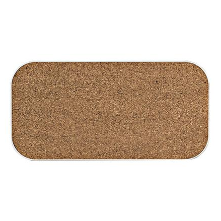 Perch Corky - Small Cork Board Wall-Plate Accessory - Neat Space