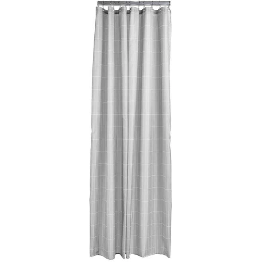 Tile Shower Curtain - Soft Grey