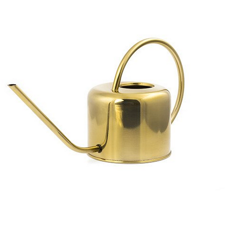 Vintage Watering Can, Brass