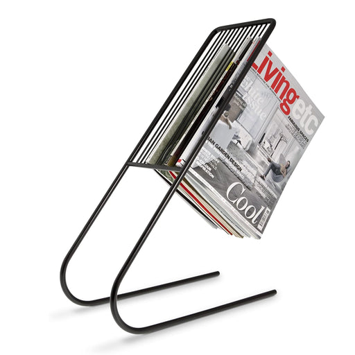 Float Magazine Rack, Black - Neat Space