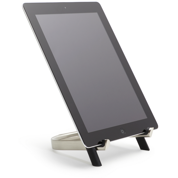 U-Dock Tablet Stand, Nickel Black