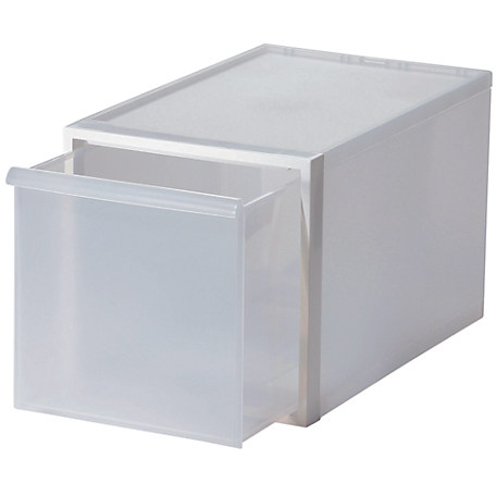 Closet System Drawer, Large White D3