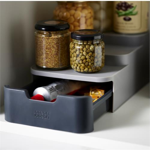 CupboardStore Compact Tiered Organizer