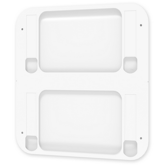 Perch Wall Plate, Wally, White - Neat Space