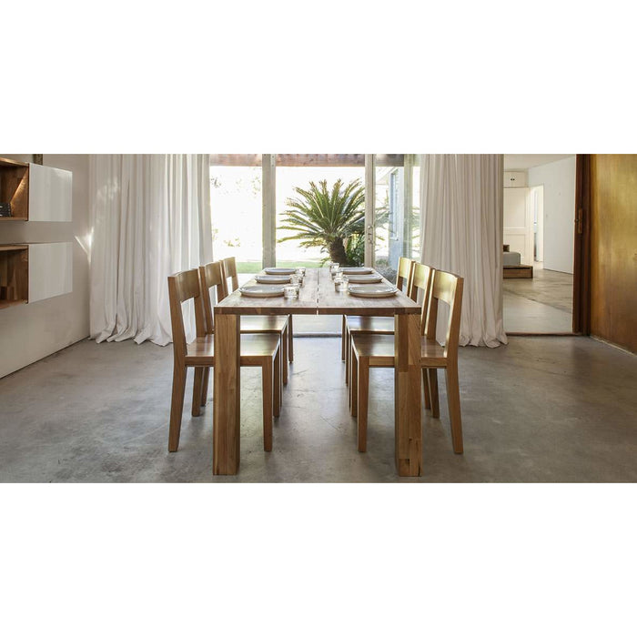 LAX Series - Dining Chair, English Walnut - Neat Space