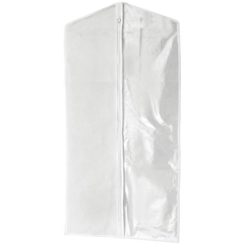 Garment Bag, Clear/White