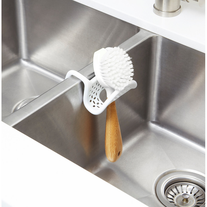 Sling Flexible Sink Caddy, White