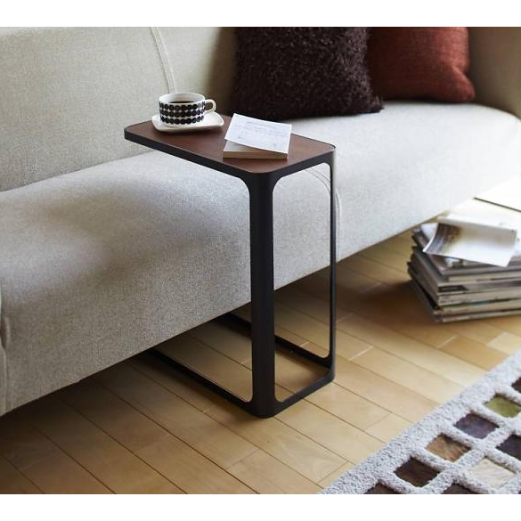 Tower Frame Large Side Table Black