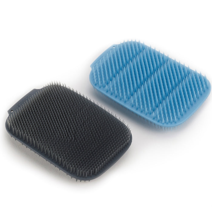 CleanTech 2-pack Scrubber Set, Blue