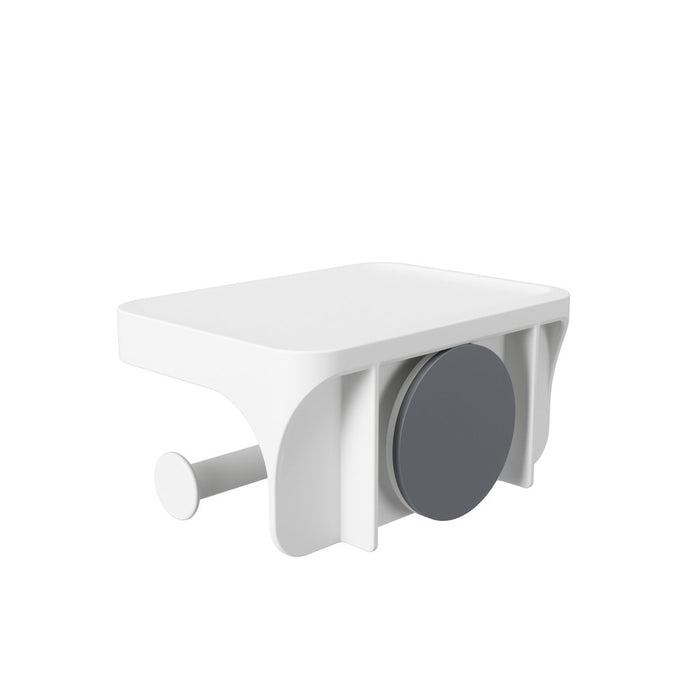 Flex Sure-Lock Toilet Paper Holder, White