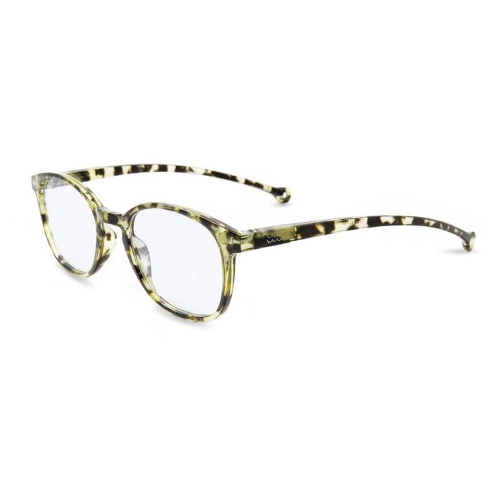 Sena Blue-Light Blocking Glasses, Morocco Tortoise +0.00