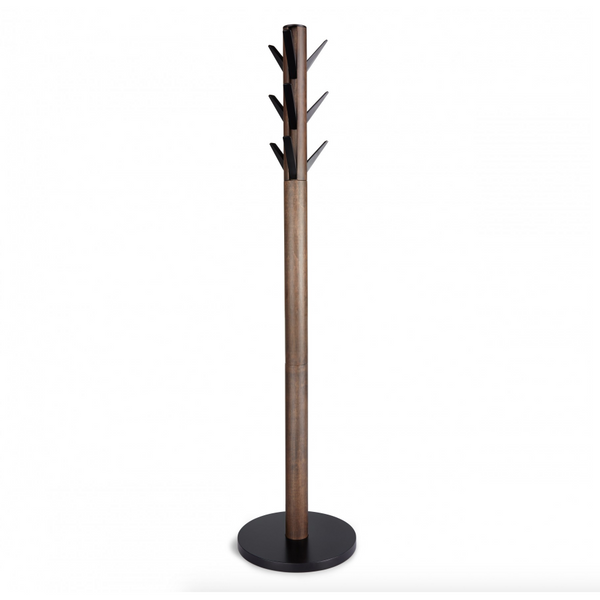 Flapper Coat Rack Black Walnut