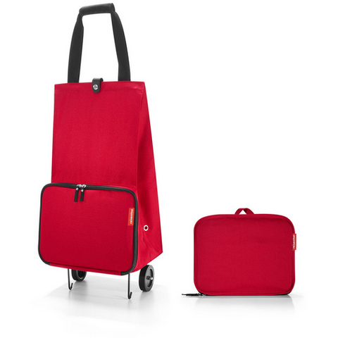 Foldable Shopping Trolley, Red