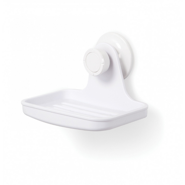 Flex Gel-Lock Soap Dish - White