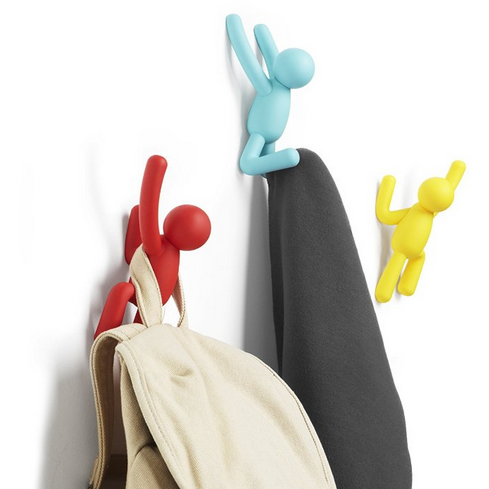 Buddy Wall Hooks - Brights