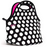 Built NY Gourmet Getaway Lunch Tote Bag, Big Dot B/W - Neat Space