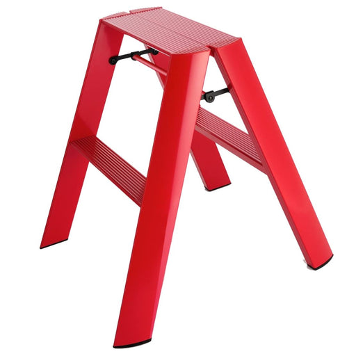 Lucano 2-Step Ladder, Red