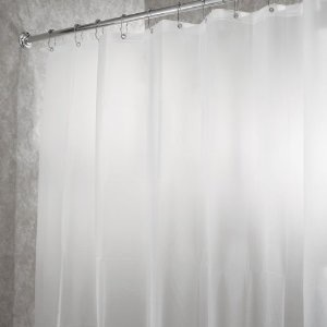 PEVA Shower Curtain/Liner, Frost, Standard - Neat Space