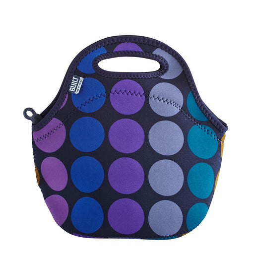 Built NY Gourmet Getaway Lunch Tote Bag, Plum Dot - Neat Space