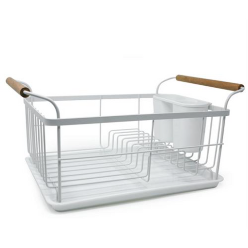 White Dish Rack & Draining Board