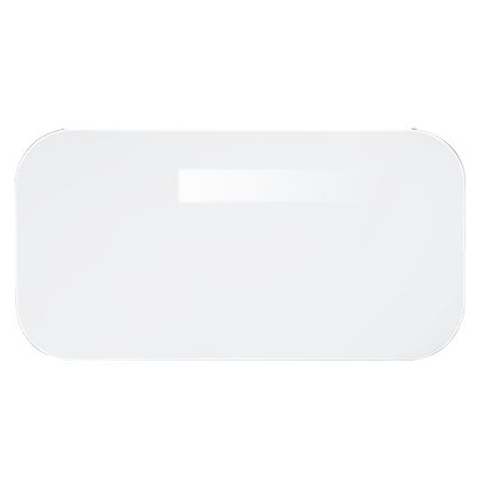 Perch Erasy - Small Dry Erase Board Wall-Plate Accessory, White - Neat Space