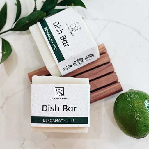 Zero Waste MVMT Bergamot + Lime Solid Dish Bar