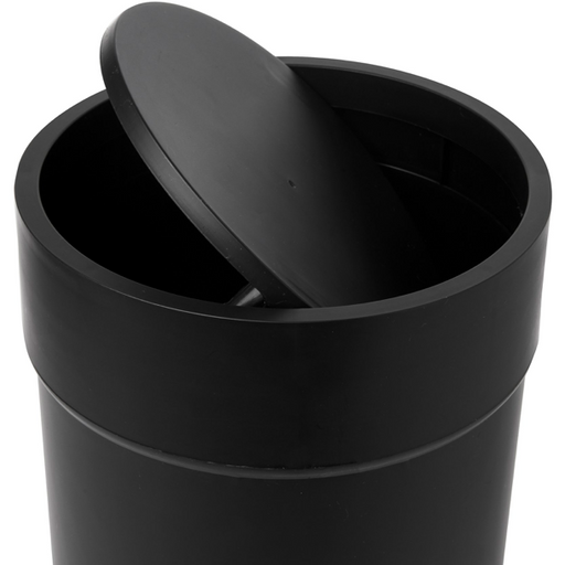 Touch Waste Can with Lid, Black