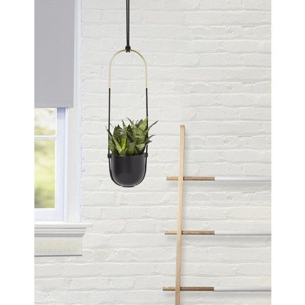 Bolo Hanging Planter, Black - Neat Space