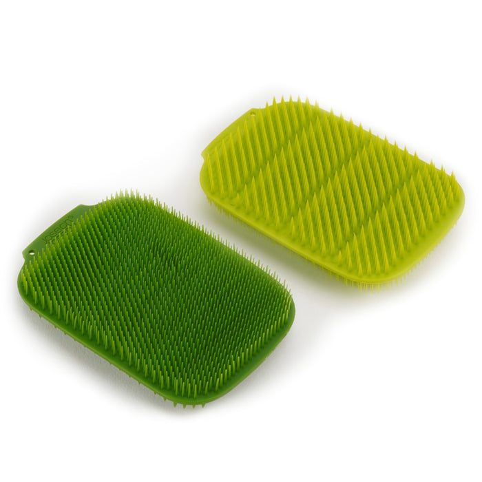 Joseph Joseph CleanTech™ 2-pack Scrubber Set, Green - Neat Space