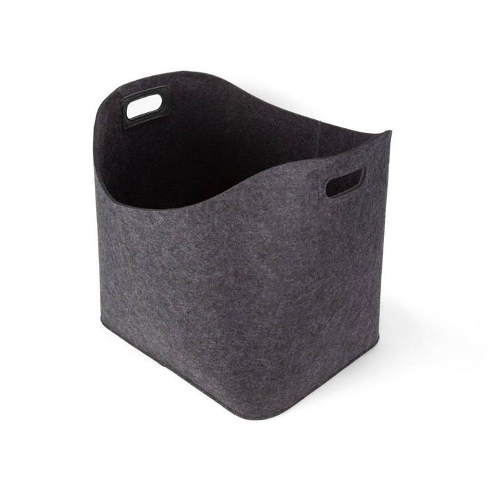 Felt-like-it! Basket, Large  Charcoal