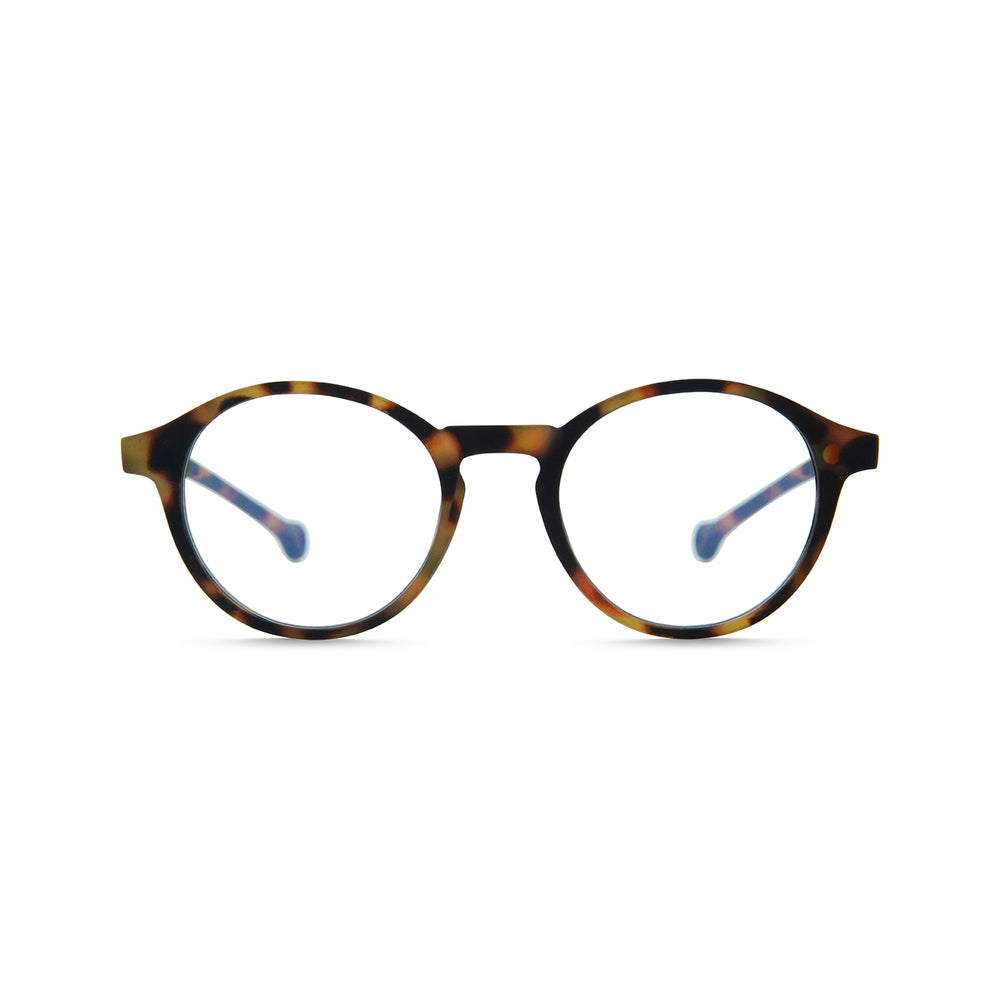 Volga Reading Glasses, Tortoise +2.00