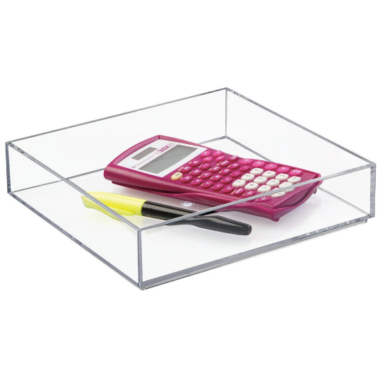 Clarity Drawer Organizer, 8x8x2