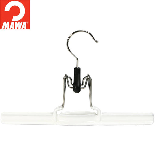 MAWA Pant Clamp Hanger, White