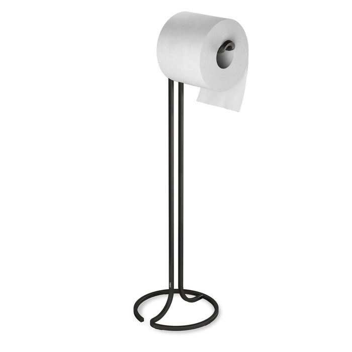 Squire Toilet Paper Stand Black