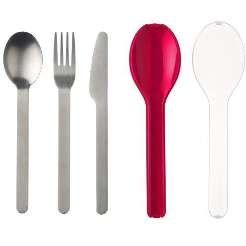 Ellipse Cutlery Set Nordic Red - Neat Space