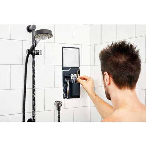 The Oliver Shower Mirror - Charcoal