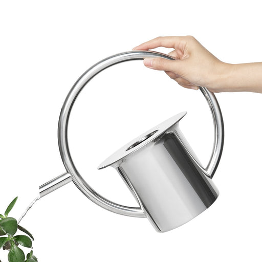Quench Watering Can, Stainless Steel
