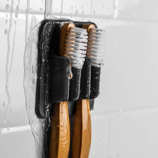 The George Toothbrush Tile - Charcoal
