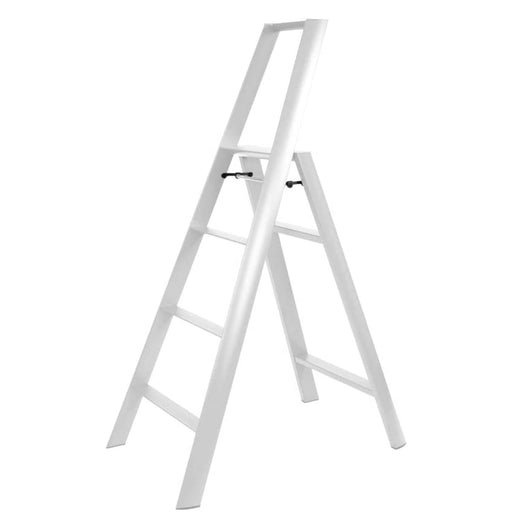 Lucano 4-Step Ladder, White